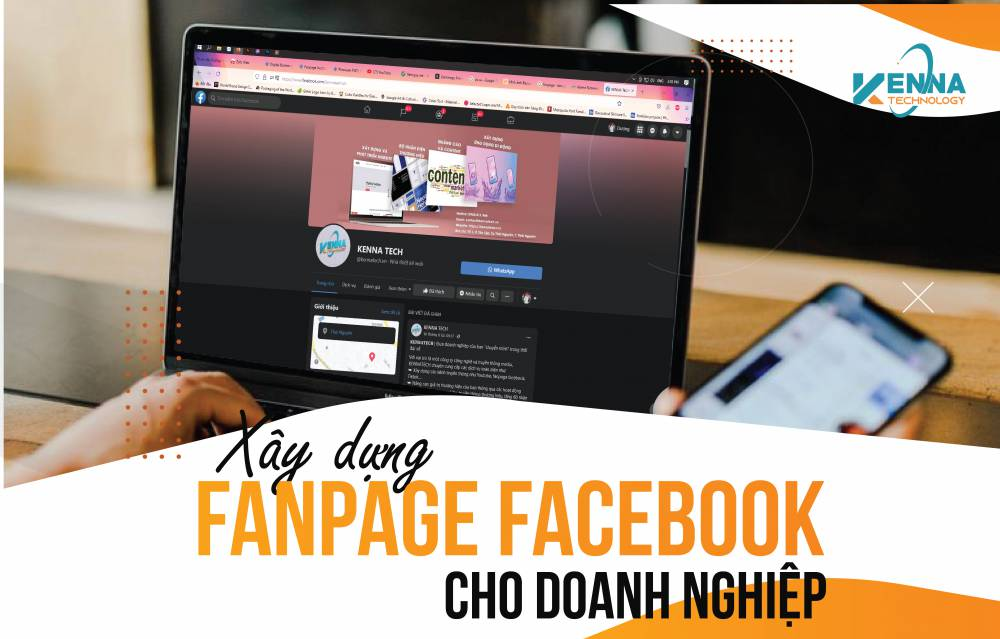 Dịch vụ xây dựng fanpage facebook cho doanh nghiệp